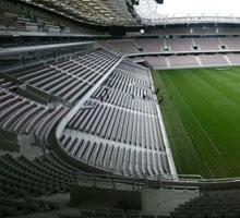 Tribune Segurane Allianz Riviera